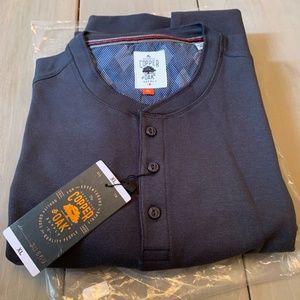 Copper & Oak Men's Shirt Long Sleeve In Gray XL